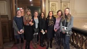 Fachkräfte aus St. Petersburg zu Besuch im Rathaus
